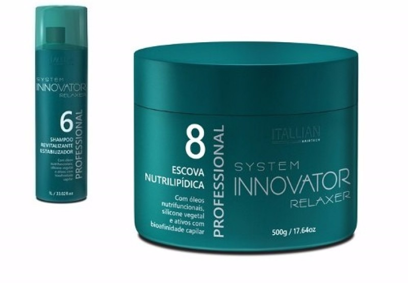 0d05c6143 escova nutri lipidica 500 ml + shampoo 250 ml innovator. Carregando zoom.
