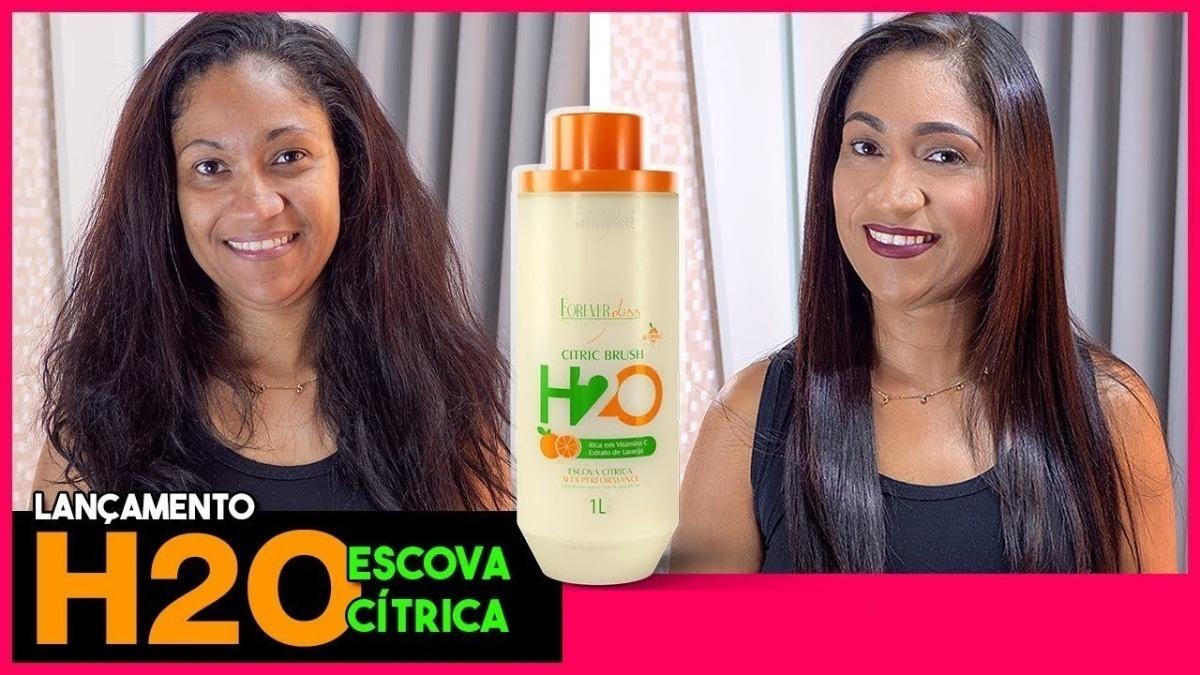 Escova Progressiva Citric H2o Orgânica Forever Liss - R$ 120,00 em ...