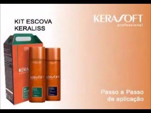 af7aff8fb Escova Progressiva Kerasoft Kit Keraliss 2x1 Itallian Color - R$ 360 ...
