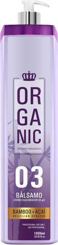 escova progressiva mundo organico 0% sem formol liso forte