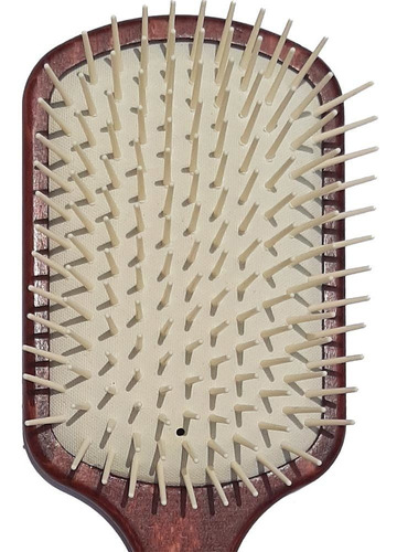 escova raquete de cabelos italiana profissional1492 3maestri