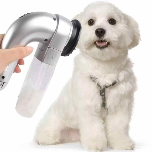 escova removedor de pelos caes gatos pet massageador portati