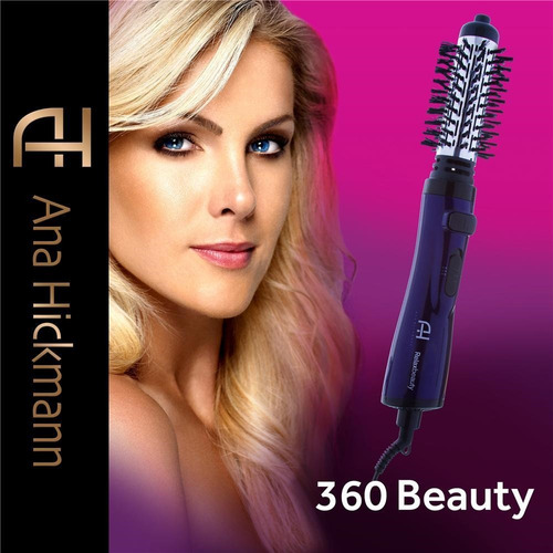 escova rotativa beauty 360 ana hickmann bivolt - relaxbeauty