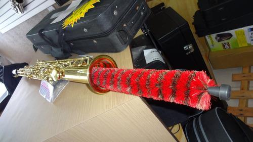 escova secadora para sax soprano reto