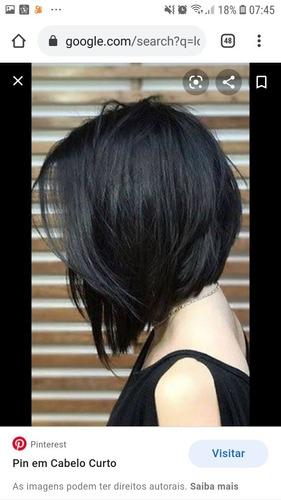 escovo cabelo a domicílio