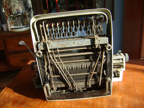 escrever antiga máquina