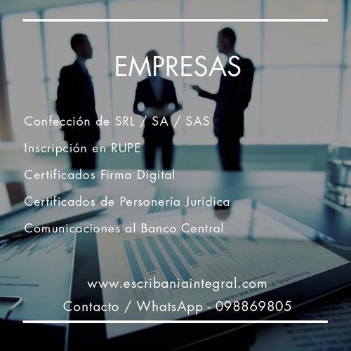 escribania integral - servicios notariales y contables