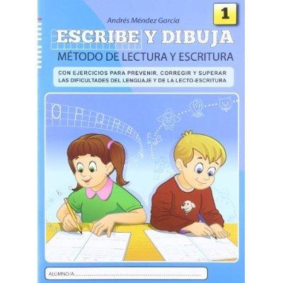 escribe y dibuja: cuaderno 1 andrés méndez garcía
