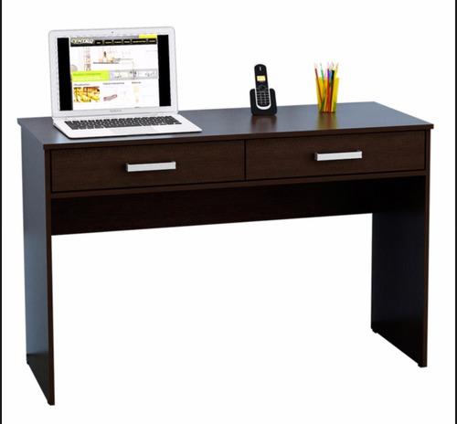 escritorio 2 cajones oficina mesa de pc notebook  cole
