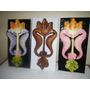 Caballitos De Mar Confeccionados En Madera Tallados,pintado