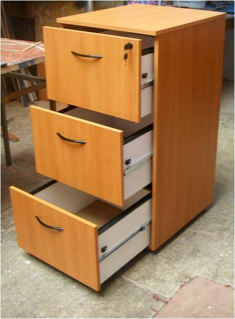 escritorio  archivero de 3 gavetas tama u00f1o oficio