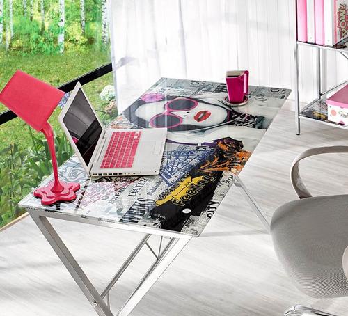 escritorio asenti en metal 110x60x74 cm maxxis