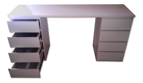 escritório bancada mdf penteadeira decoração escrivaninha