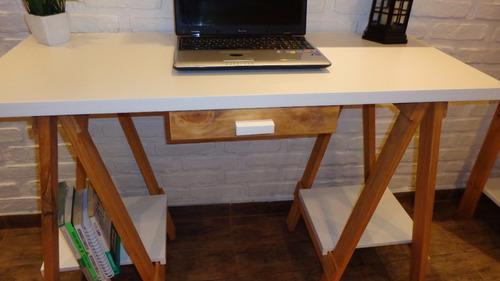 escritorio caballetes vintage estilo nordico escandinavo