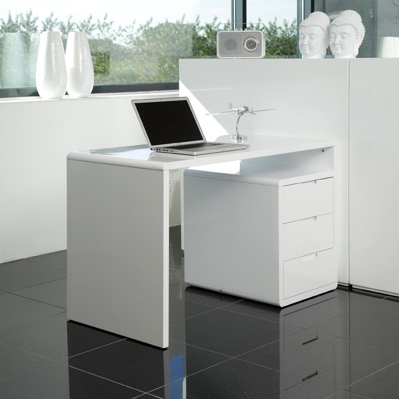 escritorio centro de estudio moderno en madera lacada