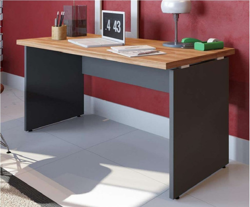 escritorio completo 3 mesas 1,50x60 + 3 gaveteiro movel