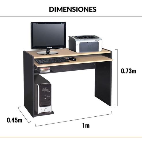 escritorio computadora bandeja extraíble platinum mod. 4240