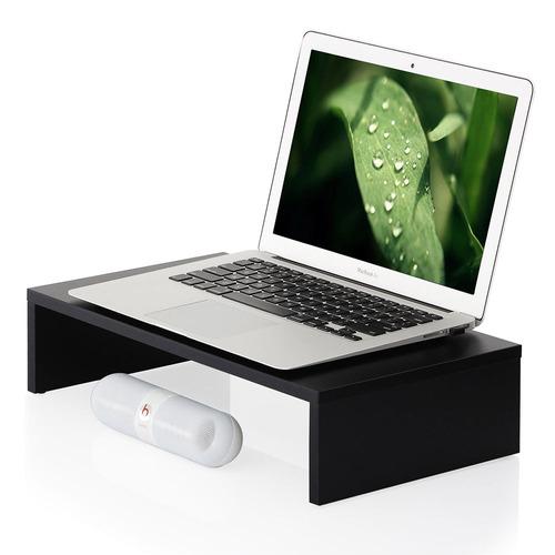 escritorio computadora monitor soporte elevador plataforma
