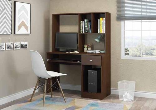 escritorio con alzada para computadora con bandeja 2103