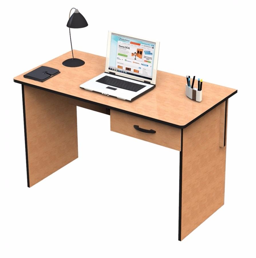 Escritorio con gaveta ideal para oficinas habitaciones for Escritorios para oficina dimensiones