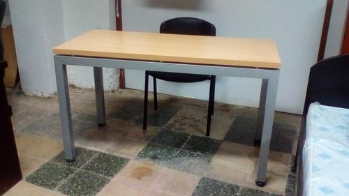 escritorio con patas metalicas somos fabricantes