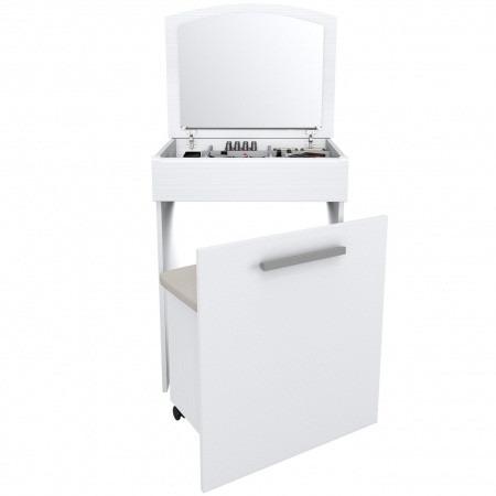 Escritorio con tocador y silla blanco toc01 oferta 12 for Oferta silla escritorio
