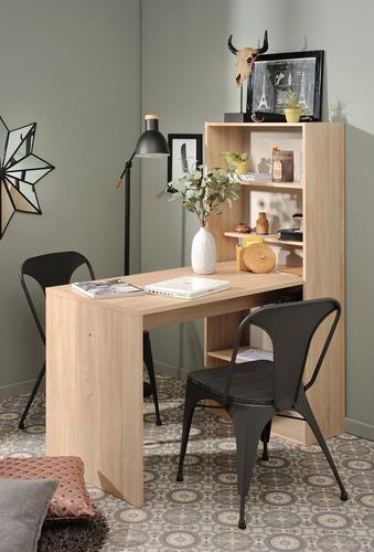 escritorio dann roble këssa muebles