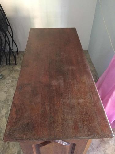 escritorio de algarrobo