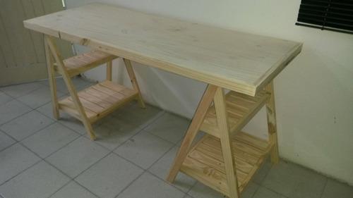 escritorio de caballetes moderno. somos fábrica