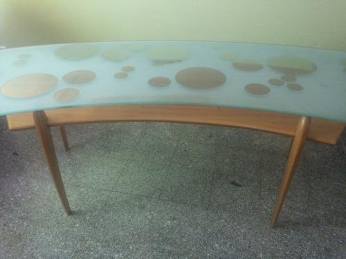 escritorio  de caoba remato
