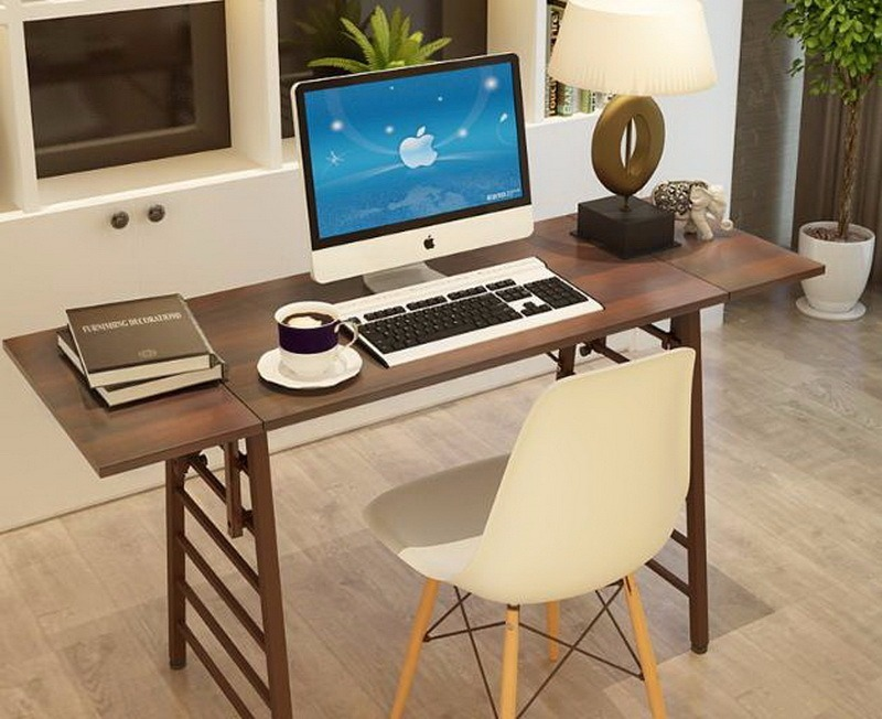 Escritorio de computadora con patas plegables 1 435 - Patas plegables para mesas ...