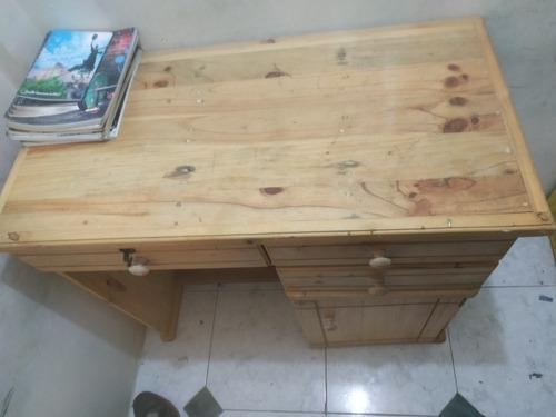 escritorio de estudio(escolar, universitario ), de madera