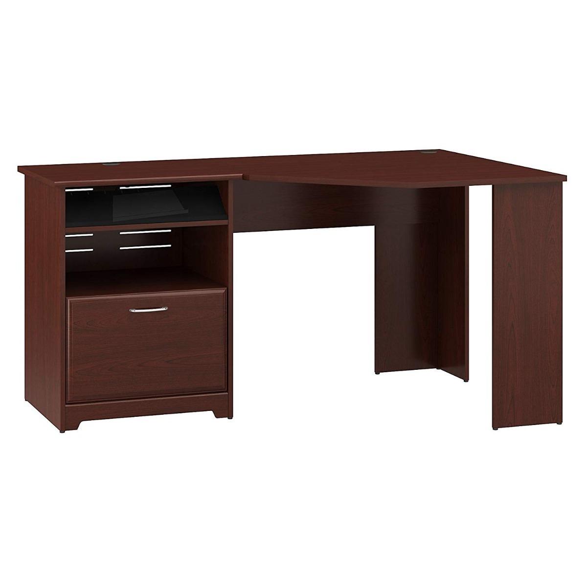 Escritorio de madera esquinero para hogar u oficina msi - Escritorios de madera para oficina ...