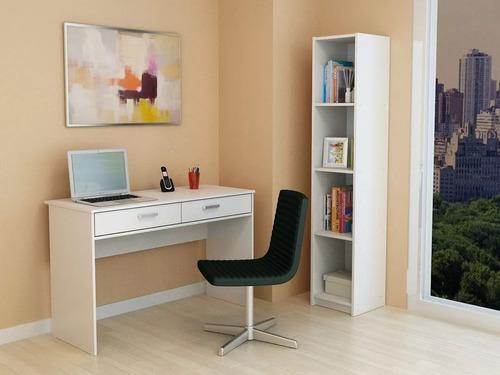 escritorio de melamina 2 cajones 1,20 m para oficina centro estant sc1250 paris envio gratis caba y gba