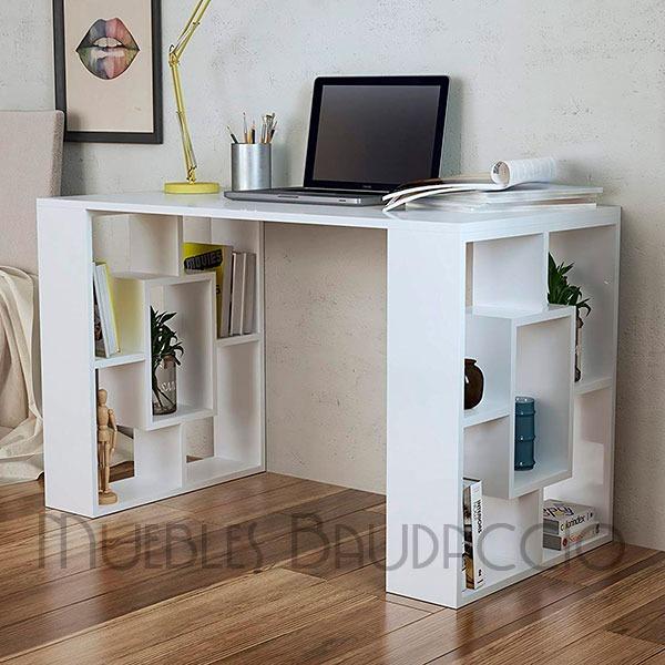 Escritorio de melamina moderno y simple s 230 00 en - Mueble escritorio moderno ...