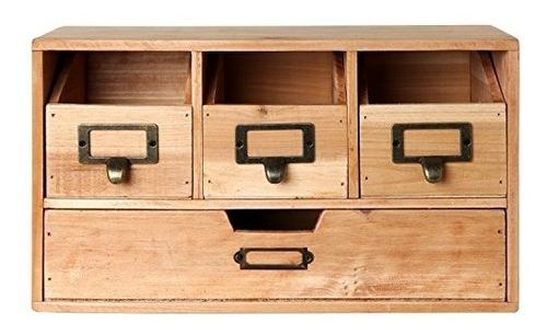 escritorio de oficina rústico mygift de madera