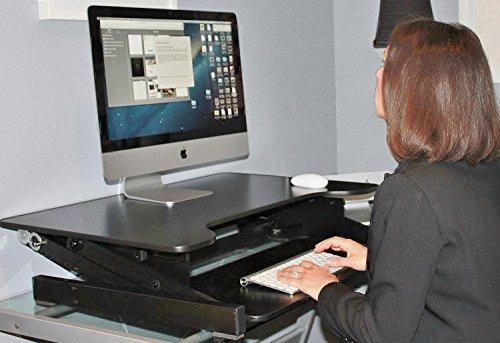 escritorio de pie adr de rocelco - convertidor de escritorio
