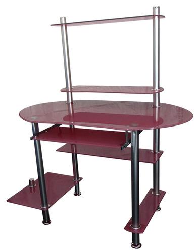 escritorio de vidrio templado ref 2078 kontroltek