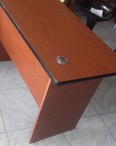 escritorio  ejecutivo 120x60x75 sin gavetas