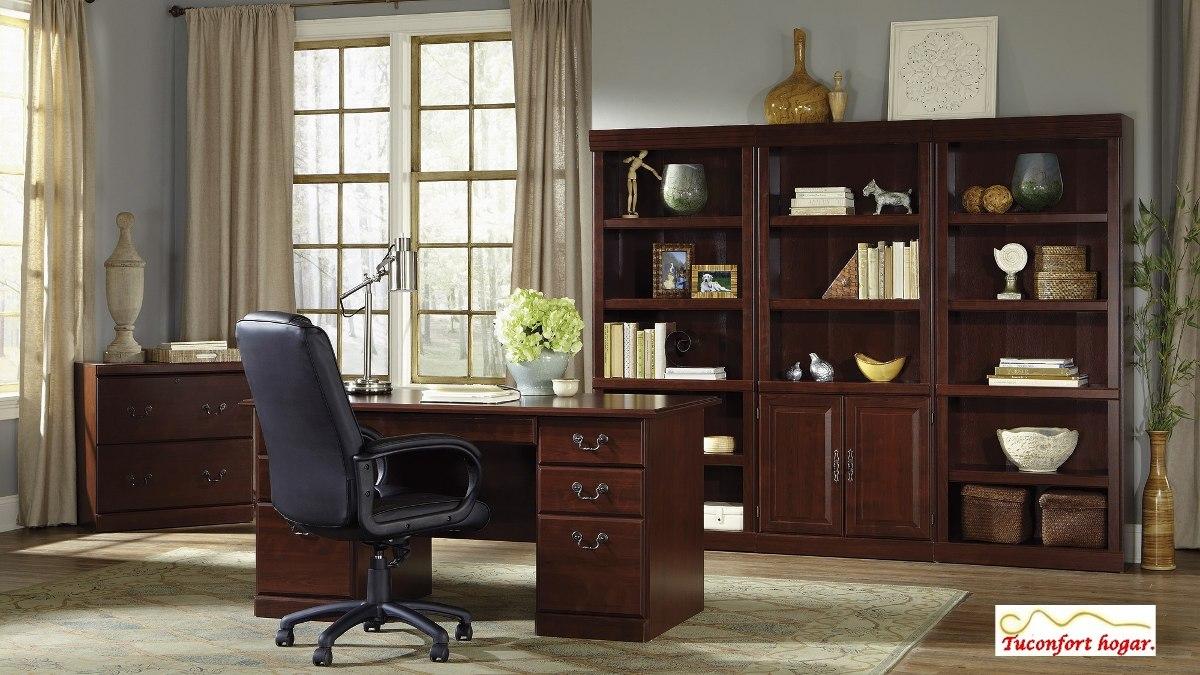 Escritorio ejecutivo sauder pc oficina hogar estudio for Escritorios montevideo