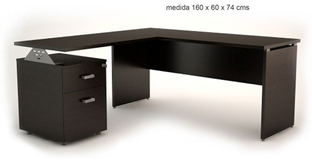 escritorio en ele oficina conjunto italiano nuevo
