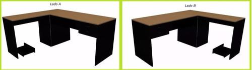 escritorio en l  blanco y negro lado b 004-fan -022