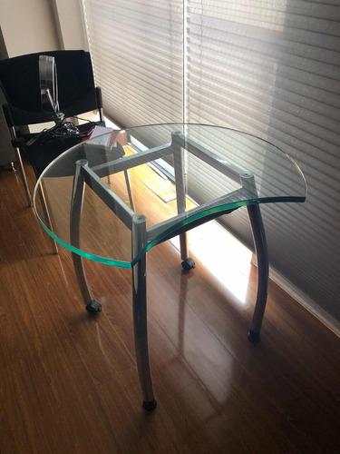 escritorio en vidrio templado