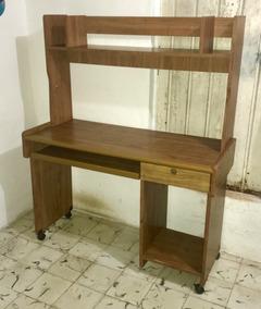 Muebles Para Computadora De Madera.Mueble Rustico Para Equipo De Computo Madera De Pino En Mercado