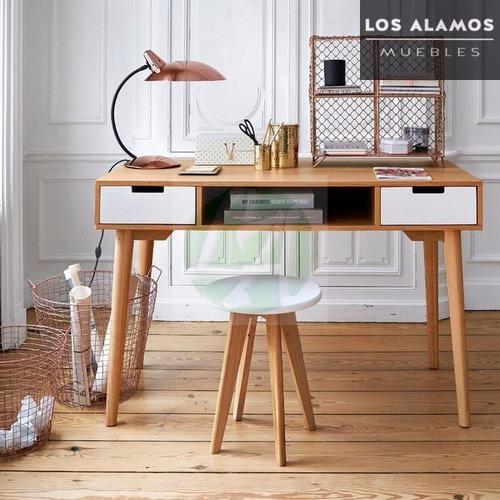 escritorio escandinavo diseño nordico 100 mts los alamos