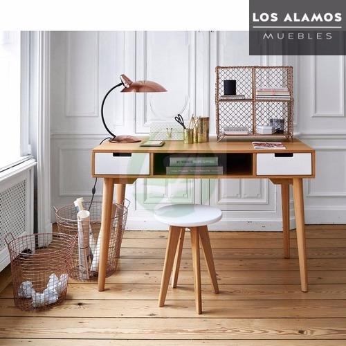 escritorio escandinavo diseño nordico los alamos muebles