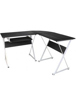escritorio esquinero en l de un nivel xtf-cd433
