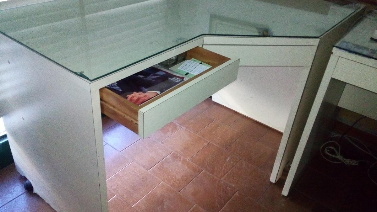 Escritorio Esquinero De Madera Muebles Para Oficinas En Mercado  # Nexo Muebles De Oficina