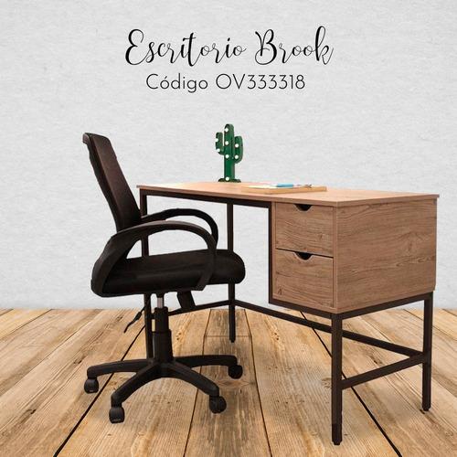 escritorio estilo industrial en madera escandinavo morph