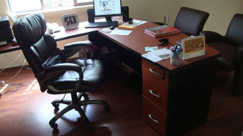 escritorio excelencia u c/librero archivero